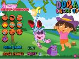 Dora Dress Up Game