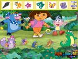 Dora The Explorer Hidden Objects